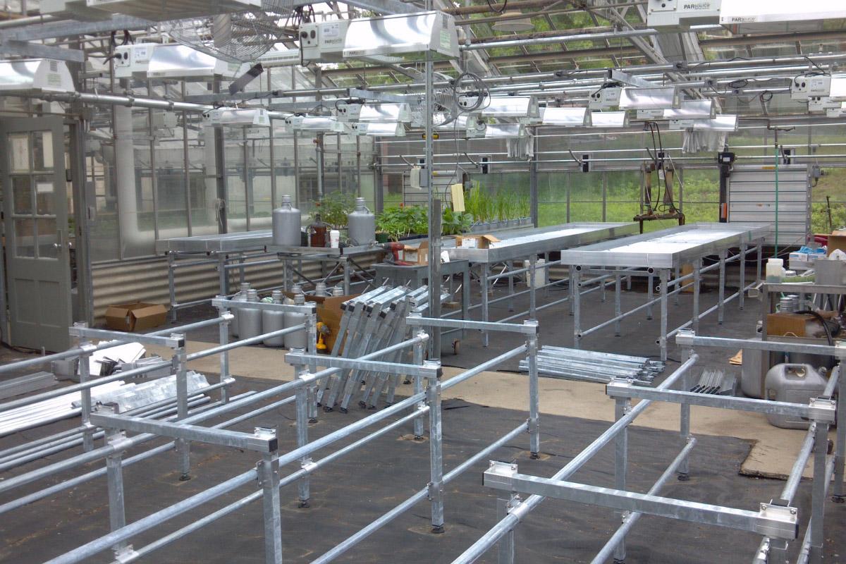 Turn key greenhouse construction