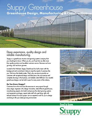 Commercial Greenhouse Brochure Catalog