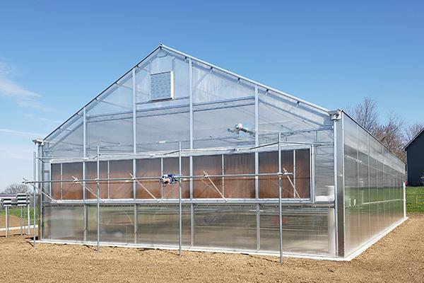 Custom A-Frame Educational Greenhouse Classroom