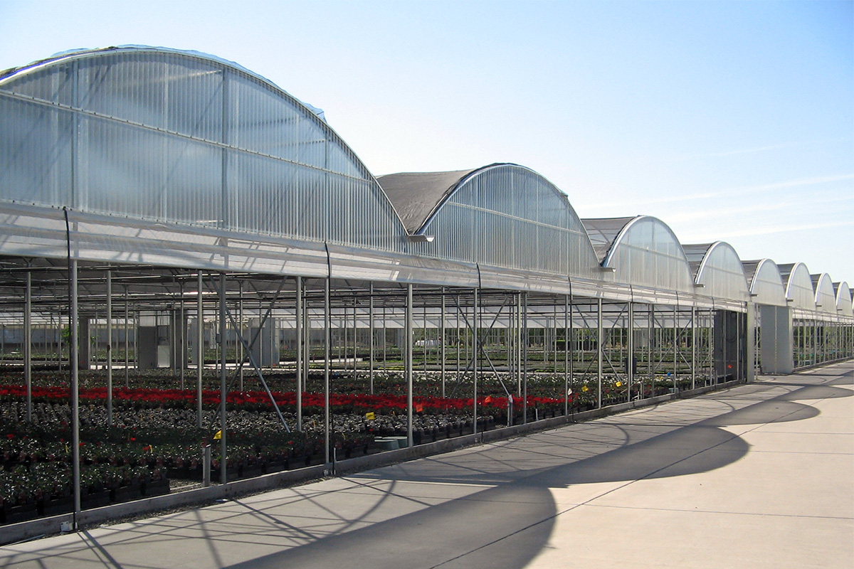 Commercial Greenhouses Gutter Connect