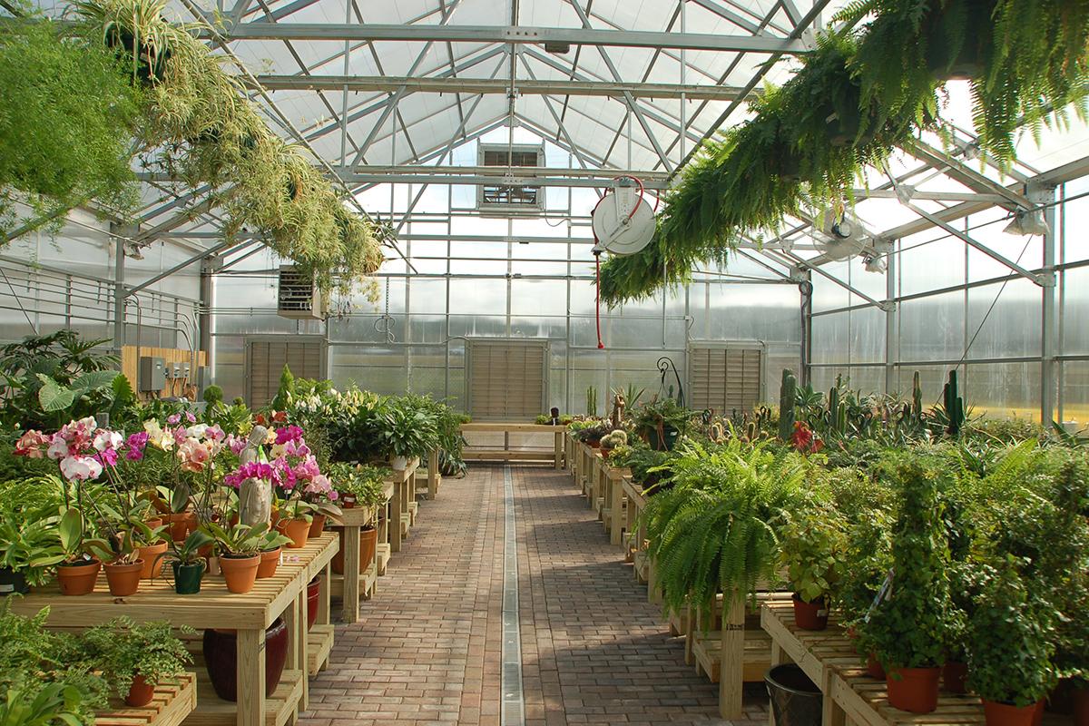 A-Frame Retail Garden Center Greenhouse