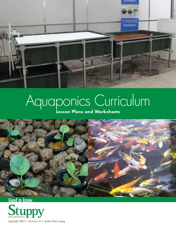 Aquaponic lesson plan worksheet curriculum